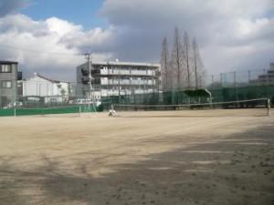 金岡公園庭球場