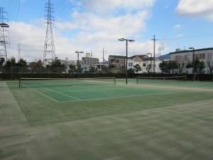 中部緑地庭球場